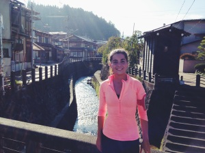 Corriendo por Takayama