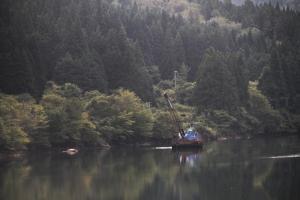 Alpes japoneses desde el tren