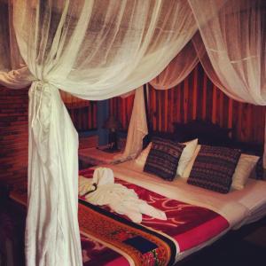 En el hotel de Sukhothai, Tailandia