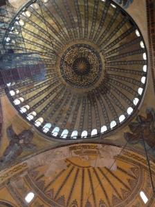 Cupula de la Mezquita azul
