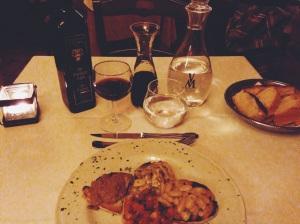 Primera cena
