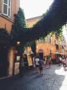 Roma y sus calles